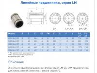 втулка lm 8 op серия lm-op