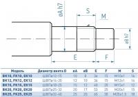 опора швп bk-10 опоры винтов швп серия bk