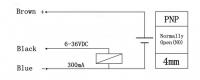 Концевой индуктивный датчик LJ12A3-4-Z/BX