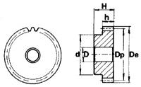 pm26023-1 рейки и шестерни модуль 1