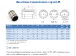 втулка шариковая lm 10luu серия lml